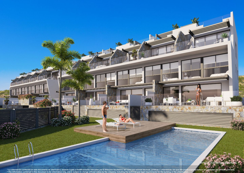 Новые дома с видом на море, доступные для продажи в Гуардамар дель Сегура, Коста Бланка.