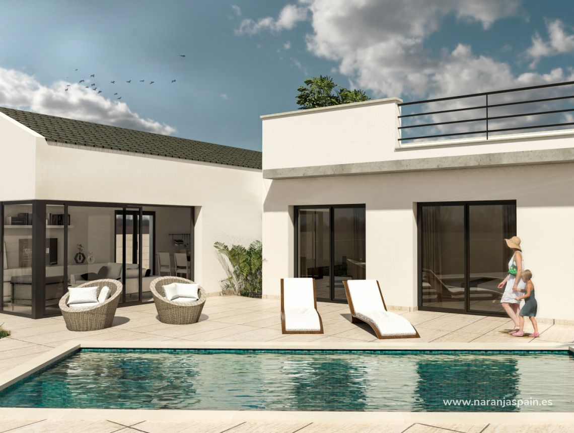 Detached villa - New build - San Fulgencio - Urb. La Marina