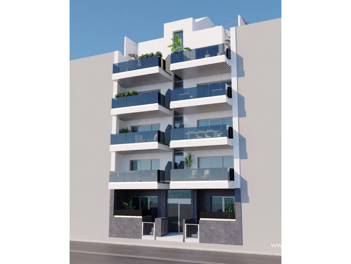 Penthouses - New build - Torrevieja - Torrevieja town