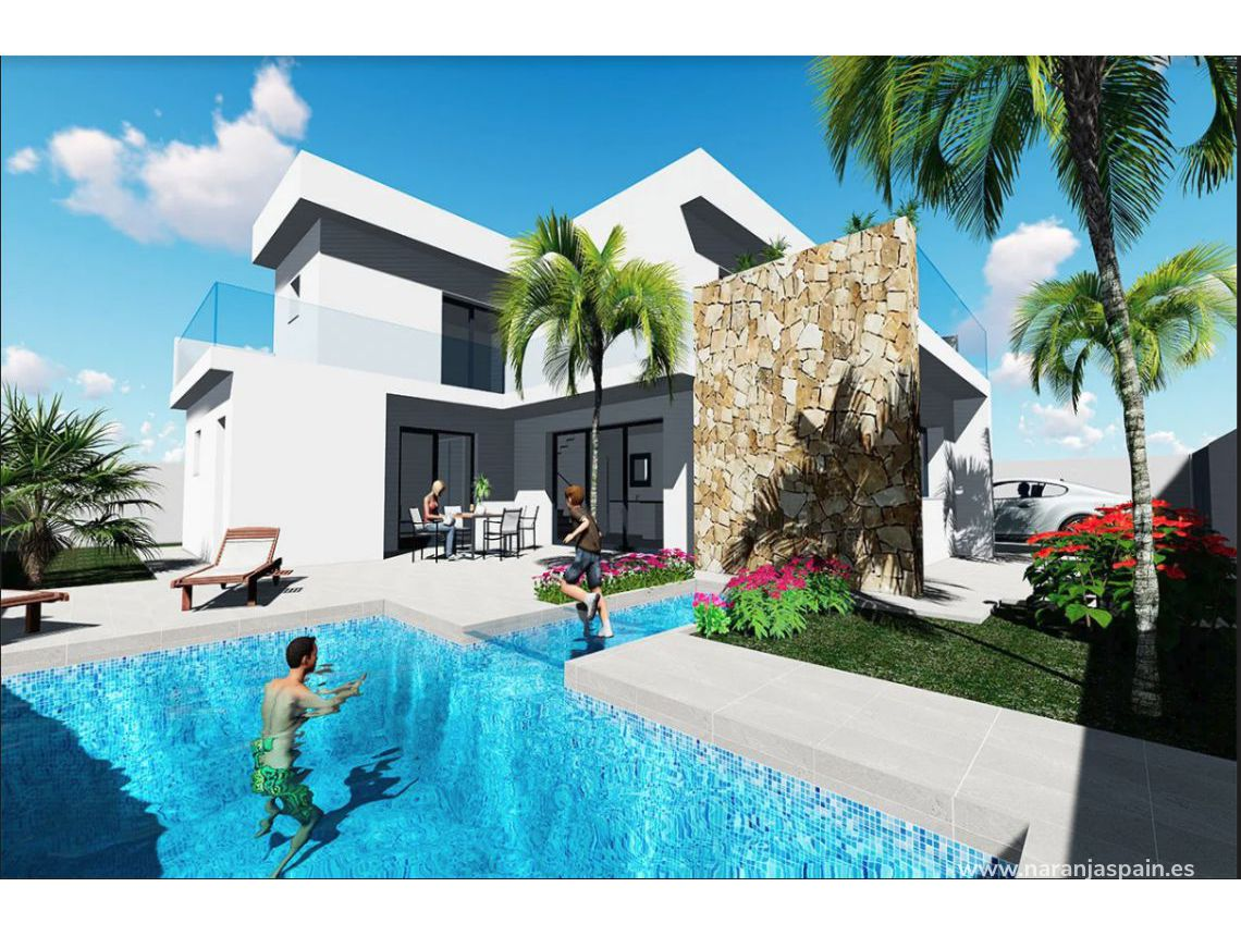Detached villa - New build - Orihuela Coast - Golf course
