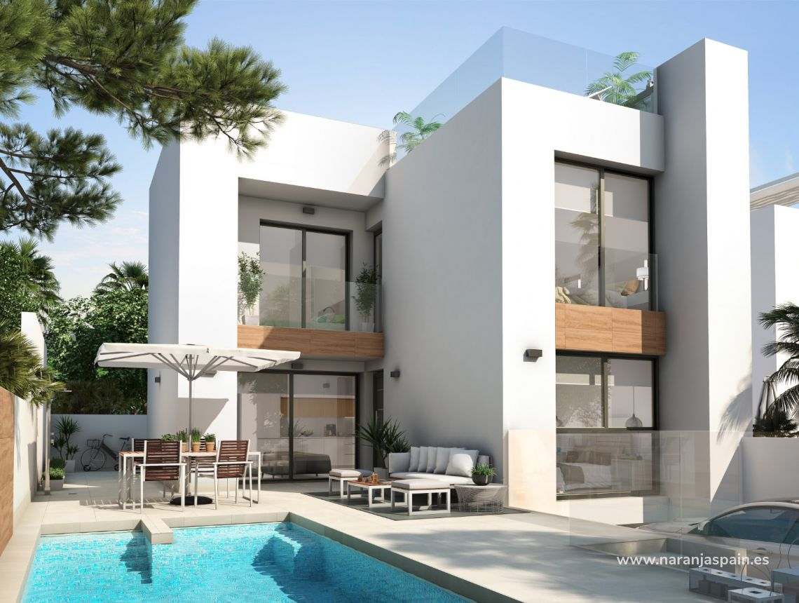 Detached villa - New build - Ciudad Quesada - Rojales