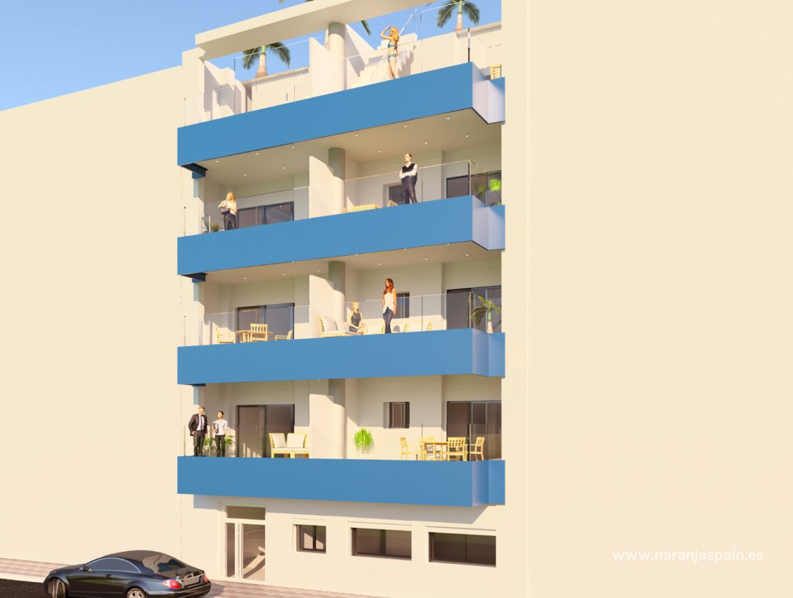 Lägenhet - New build - Torrevieja - Torrevieja