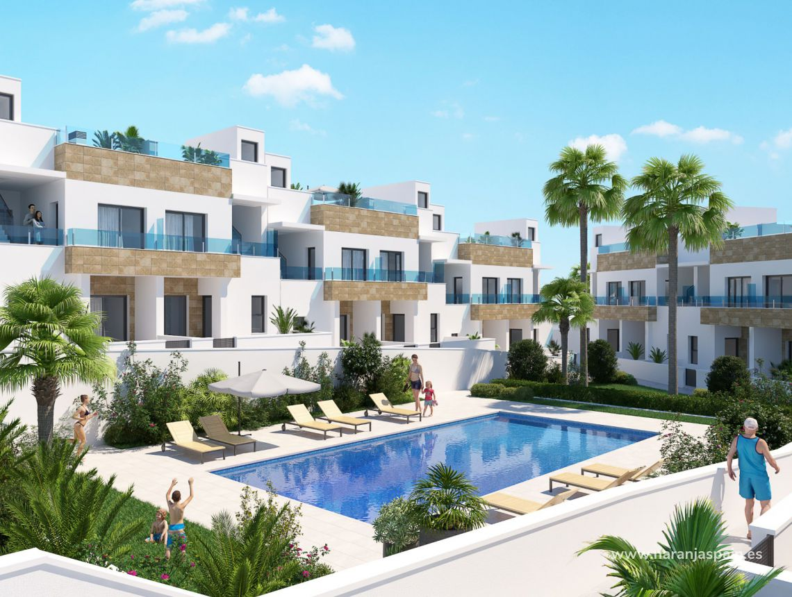 Парный дом - New build - Orihuela - Bigastro